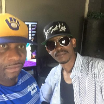"Chris ""Godxilla"" Taylor working with Kurupt Young Gotti"