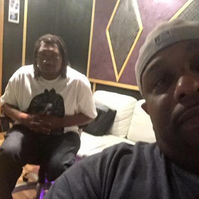 "Chris ""Godxilla"" Taylor working with KRS-One"
