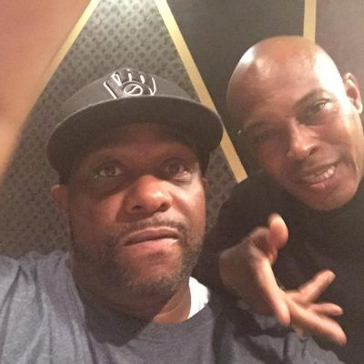 "Chris ""Godxilla"" Taylor working with Sticky Fingaz"
