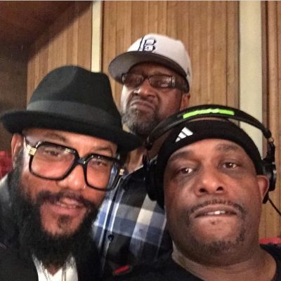 "Chris ""Godxilla"" Taylor working with Ricky Harris"