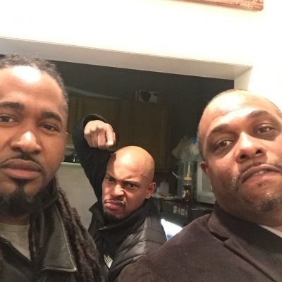 "Chris ""Godxilla"" Taylor working with Mad Lion and Sticky Fingaz"